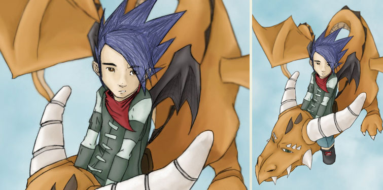 Colorisation (Go Away with Dragoon - Blooguear)